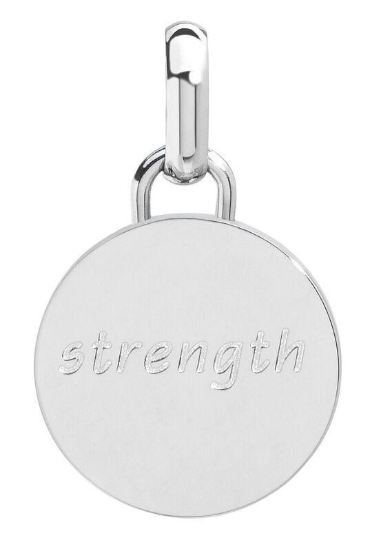 Strength pendant, 15mm, stainless steel
