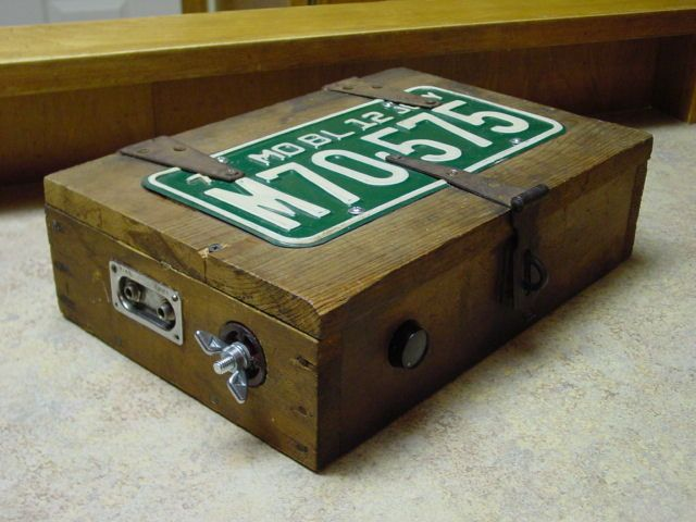 how to make a stomp box drum