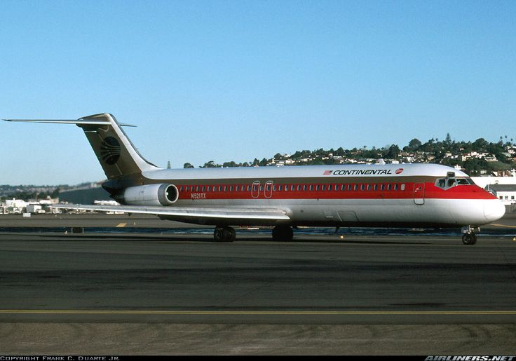 N521TX Continental Airlines McDonnell Douglas DC-9-32