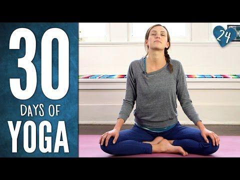 *after hike stretch yoga* Gentle Yummy Yoga - 30 Days of Yoga - Yoga with Adriene