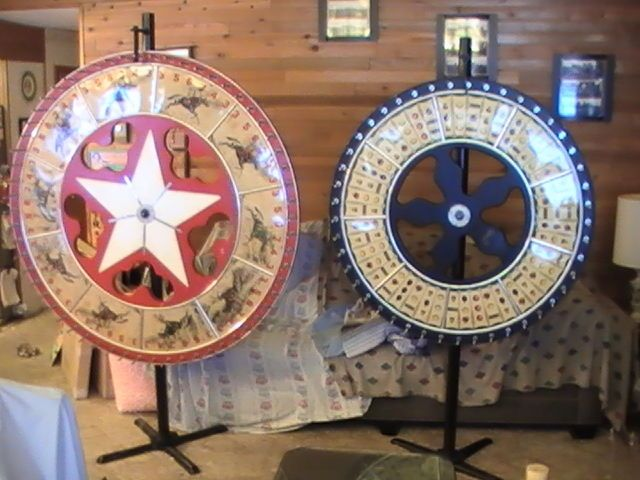 how to make a giant wheel of fortune