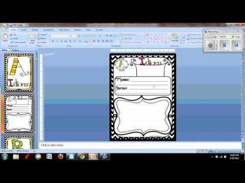 TPT Video Tutorial: Making Editable PowerPoints by Saving a Slides as Images for TPT Products-this also protects the clipart you're using! PIN NOW-WATCH LATER :)
