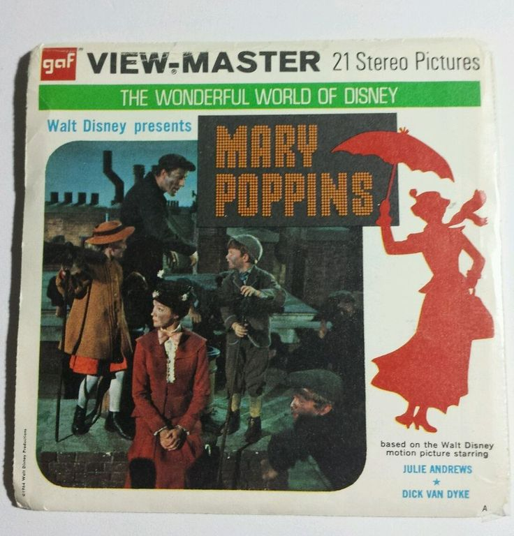 Mary Poppins - View-Master, c.1964