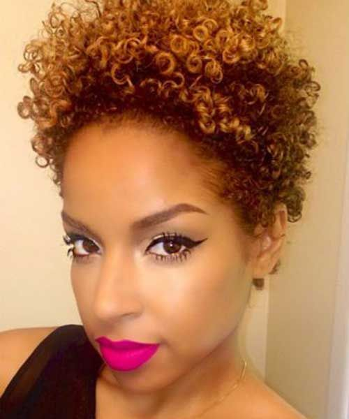super short natural hairstyles