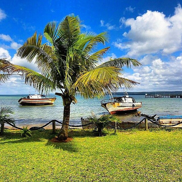 Lunch with a view in the seaside town of Inhambane, Mozambique #TLPicks courtesy of @glampackersyd #howisummer