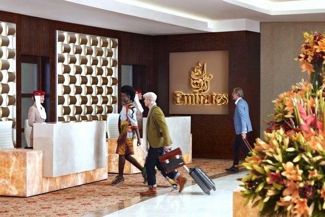 Emirates First Class lounge at Dubai International Airport: review