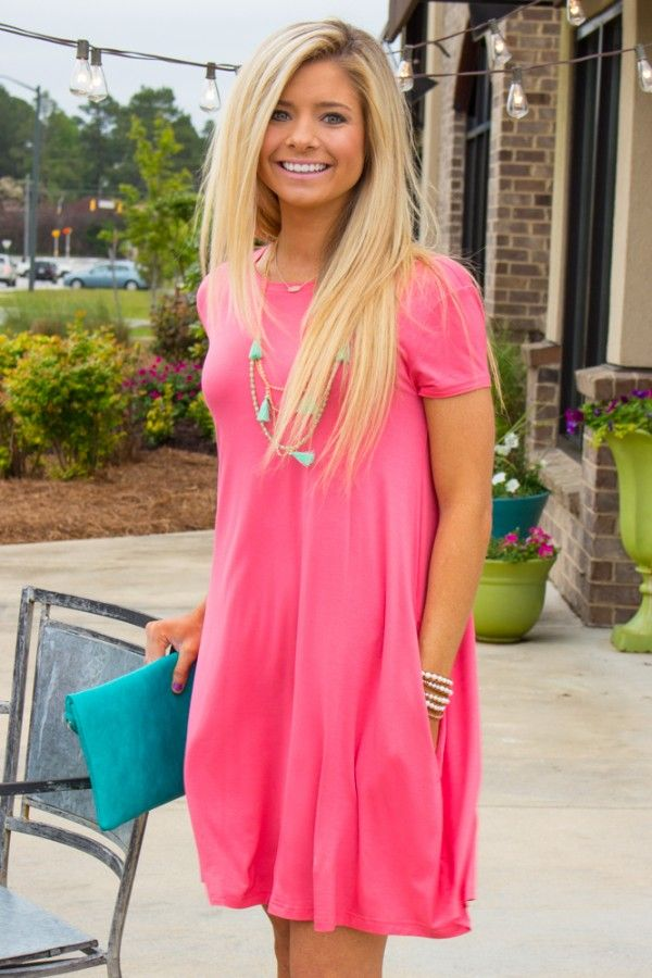 Piko: The One That Got Away Dress- Coral