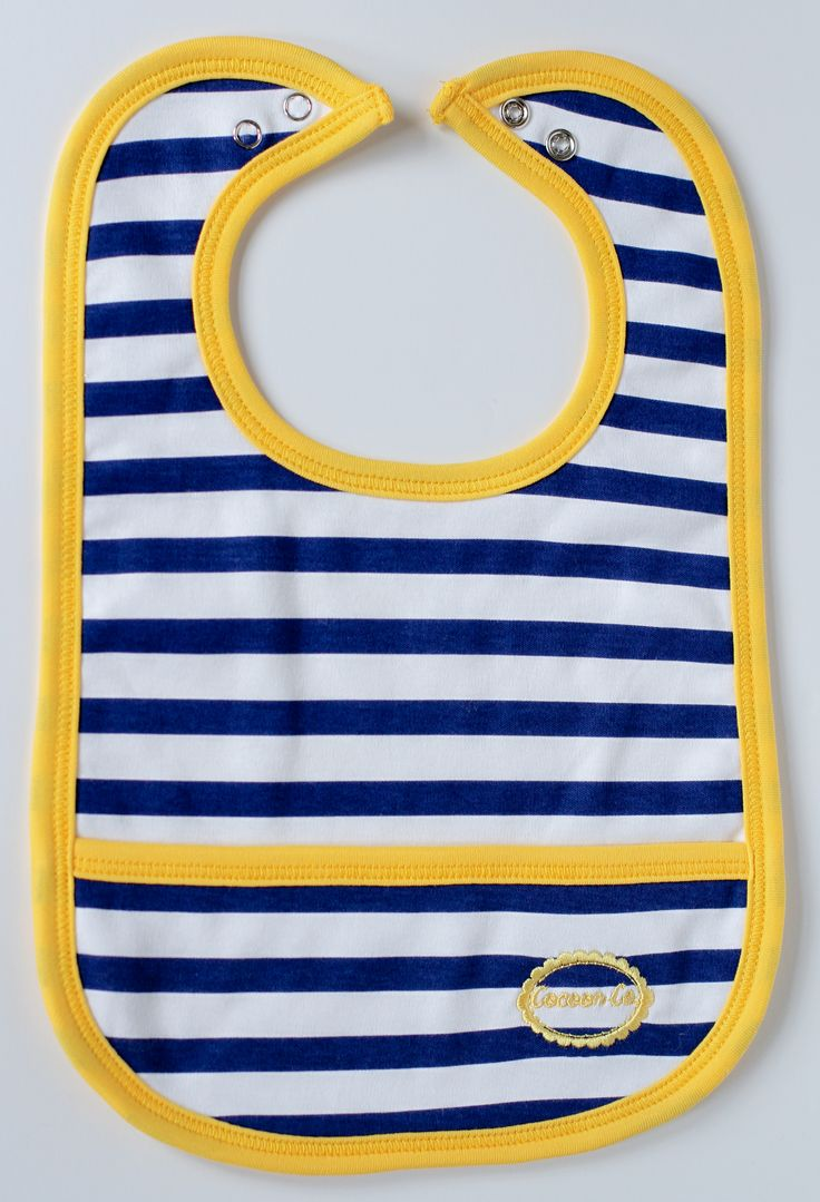 Just in time for spring and summer, our nautical bib is perfect for boys or girls! 100% Peruvian Pima cotton, liquid repellent, and antimicrobial... Who says you can't have it all in a bib?? #TheCocoonCompanyBibs