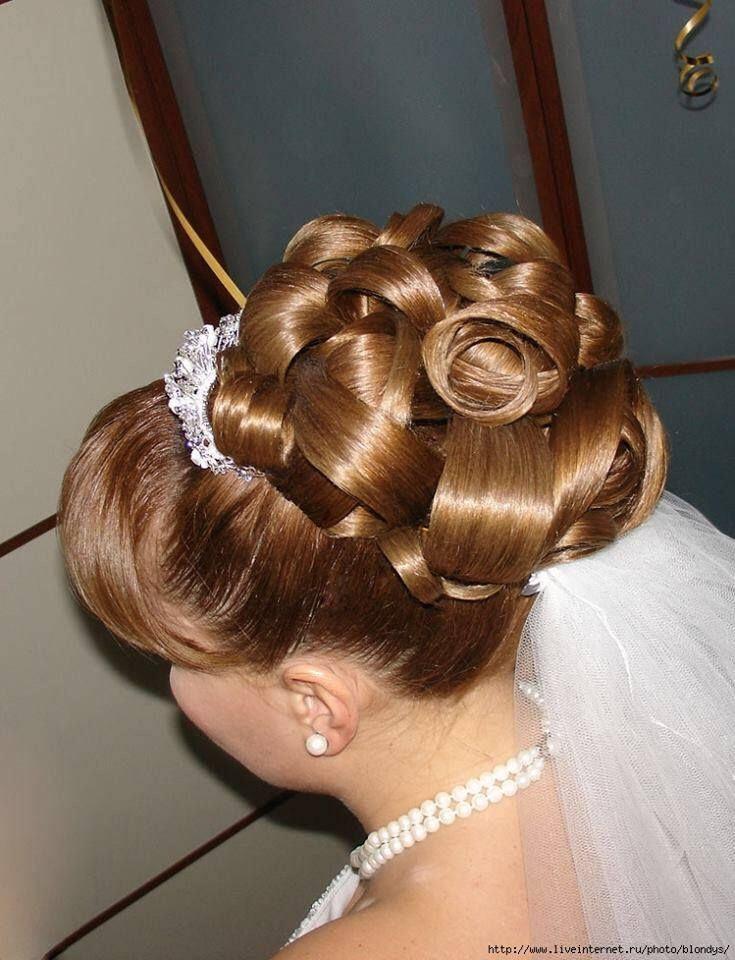 big hair - updo wedding coiffure