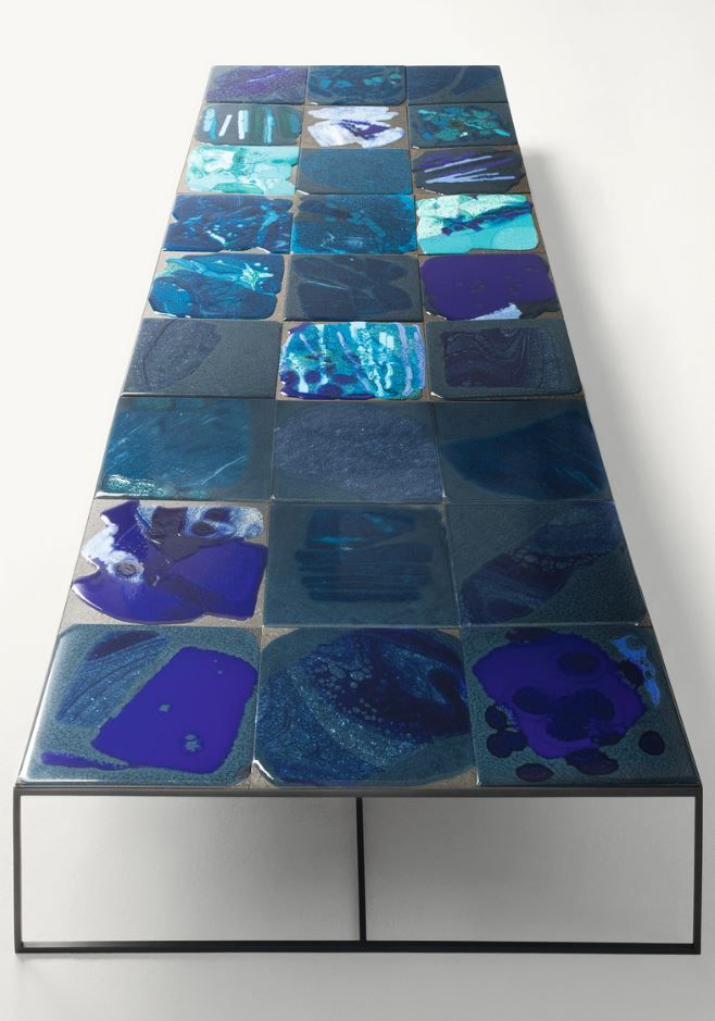SCIARA Low square coffee table by @paola_lenti #design Marella Ferrera