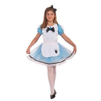 Child Girls Alice Dress Alice in Wonderland Halloween Costume Fancy Dress Up | eBay
