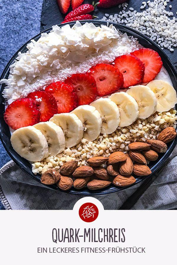 Quark Rice Pudding: Ein köstliches Fitnessfrühstück. Guten Hunger nach Hunger!   – Fitness Food | REISHUNGER