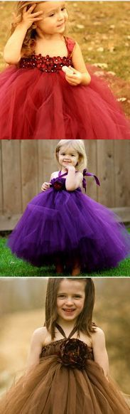 Beautiful No Sew Tutu Dresses  40 Homemade No-Sew DIY Baby and Toddler Gifts - DIY for Life