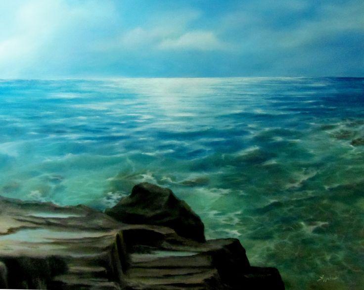by ΑγγελικΗ, 80Χ100cm, oil on canvas