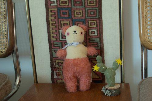 Polka Dot Club Coral Bear