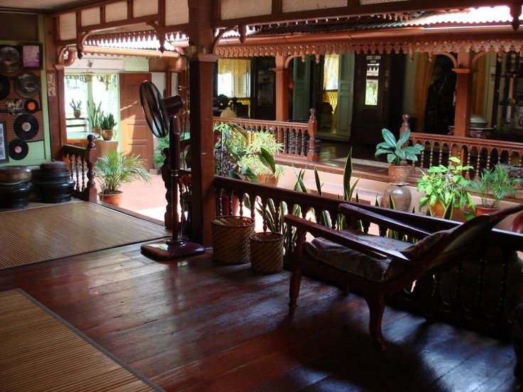 Interior Of Traditional Malay Village House Homes