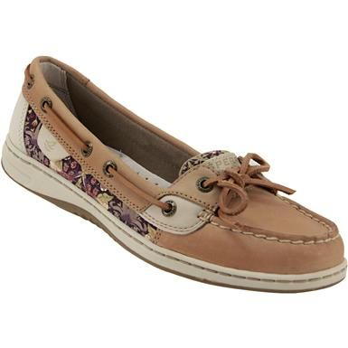 Sperry Angelfish Plus Boat Shoes - Womens Liberty Floral