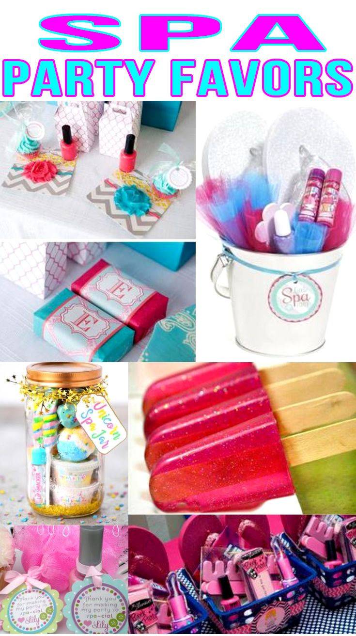Spa Party Favors! Spa birthday party bags, goodie bag & more ideas.  Get the best spa birthday party ideas. Best ideas for boys and girls for a bday or classroom party. Candy, gum, toys & more kids and children of all ages will love. DIY or buy some fun spa party favors. Find spa birthday party ideas now!