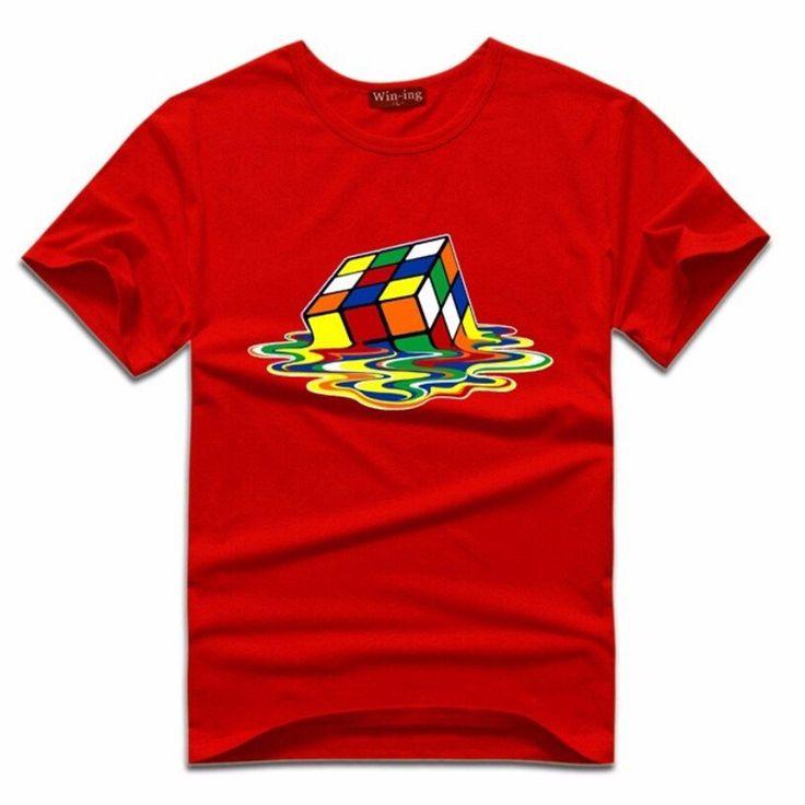 Big Bang Theroy Rubix Cube T Shirt...FREE SHIPPING