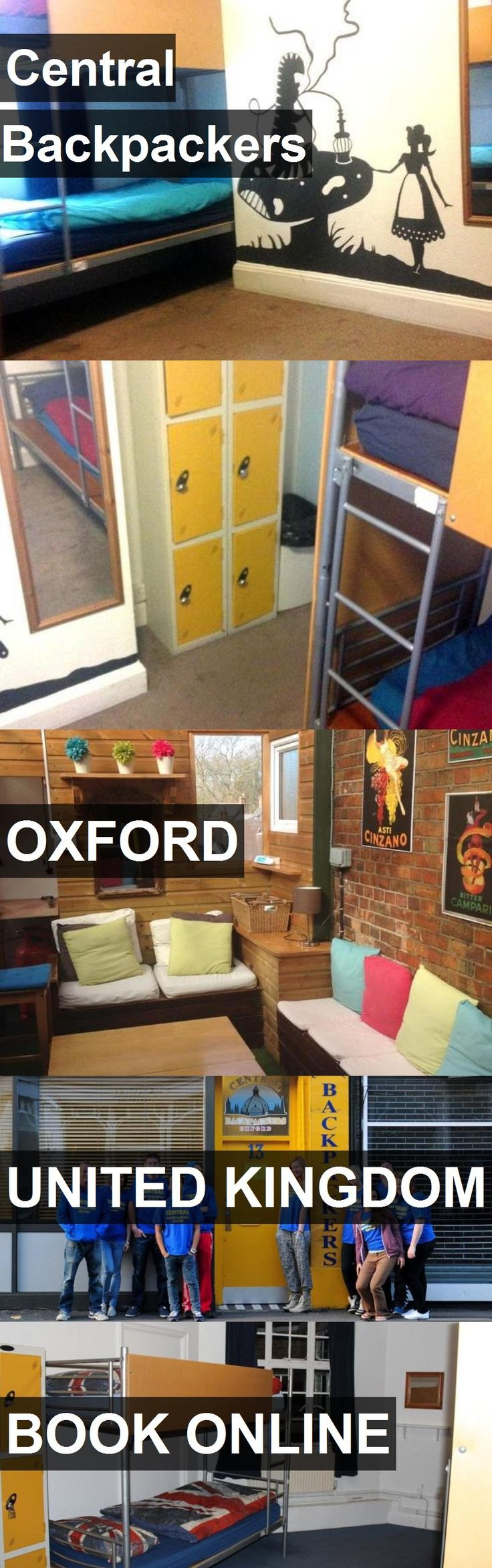 Hotel Central Backpackers in Oxford, United Kingdom. For more information, photos, reviews and best prices please follow the link. #UnitedKingdom #Oxford #travel #vacation #hotel