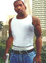 Carl Johnson (via: http://gamewise.co/characters/131/Carl-Johnson)