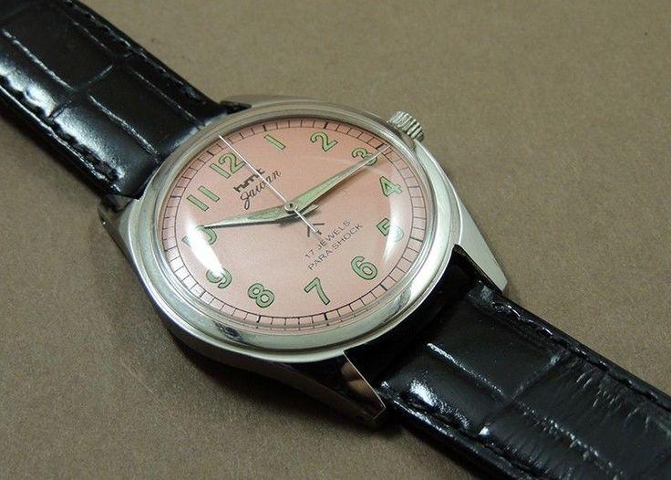 Vintage HMT Jawan HandWind 17Jewel India Mechanical Metallic Dial Military Watch #HMT #Casual