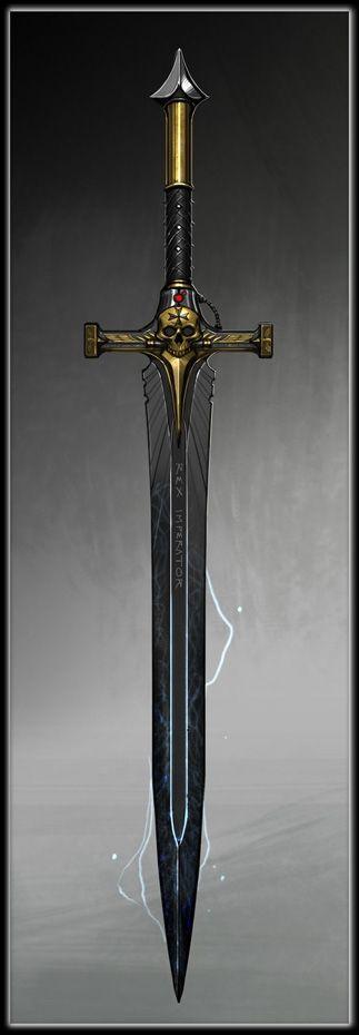 Schwert der Rache - legendär - 1 hand schwert gerade