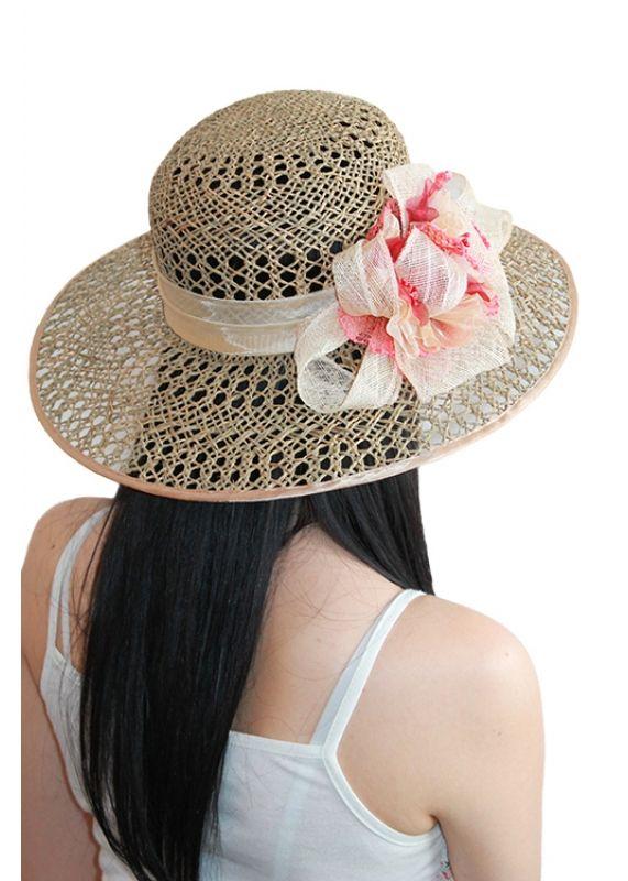 """Соломенная шляпа """"Восход солнца"""", купить в интернете"""