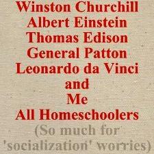 Famous Homeschoolers