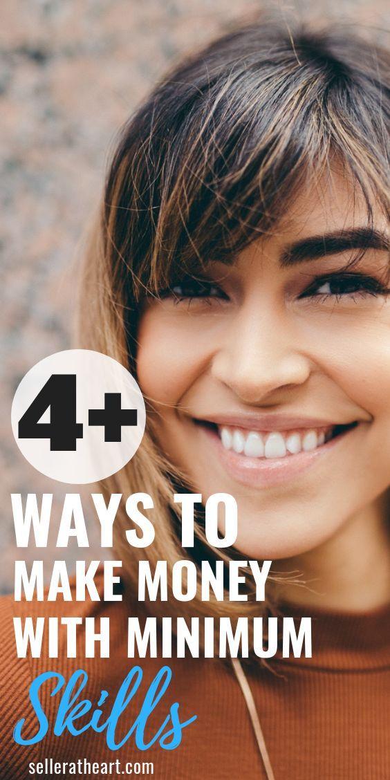 Gehen Sie, sprechen Sie, tippen Sie auf: 4 Möglichkeiten, mit minimalen Fähigkeiten Geld zu verdienen