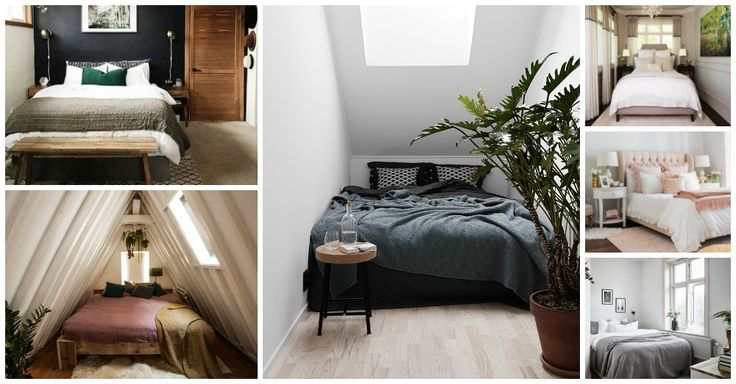 10 Ultra Small Bedrooms with King Size Beds | Small ...
