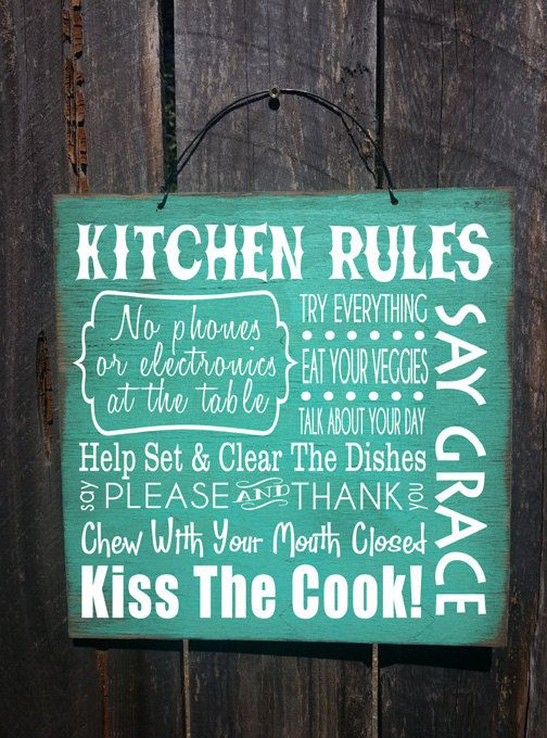 Rustic sign -  maybe in Red or Black?