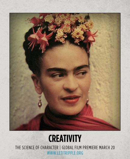 When we think of creativity, one of the people who comes to mind is Frida Kahlo. The Let it Ripple series is all about collaborating and giving back. The first 3 films are available for free customization for any not-for-profit org working to make the world better. #CharacterDay #creativity