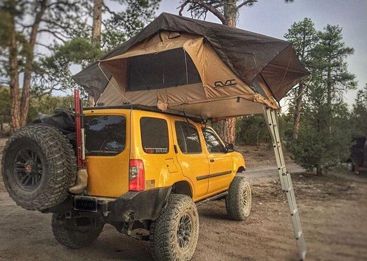 Rooftop tent Xterra Exterra Jeeps Off Road Pinterest