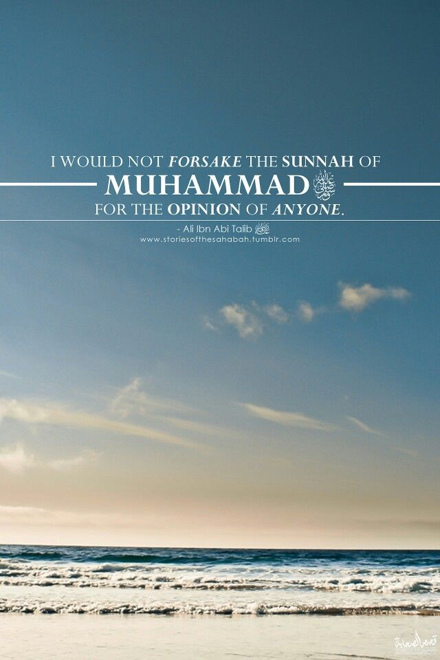Follow, not abandon sunnah (authentic ones)