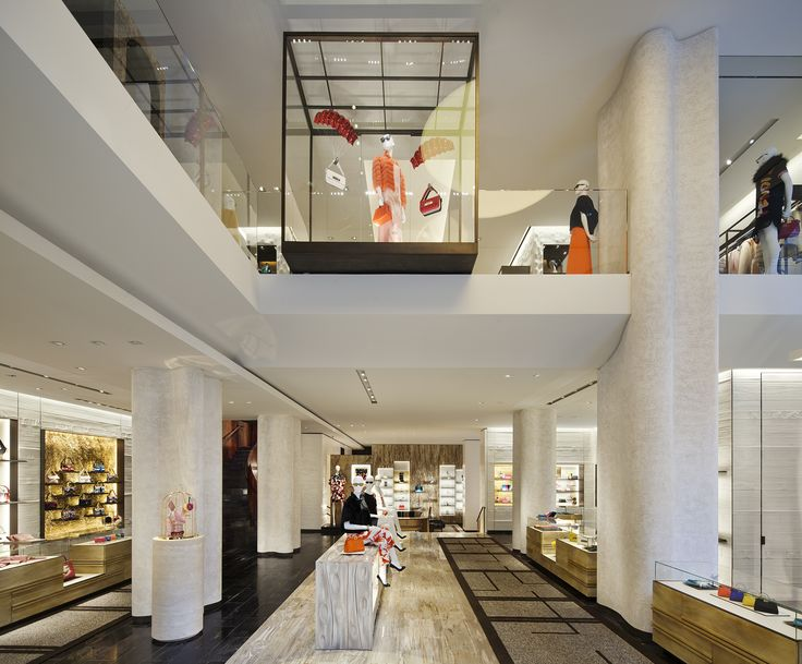 Retail Directory Peter Marinos New Fendi Flagship Celebrates The Luxury Labels Roman Roots