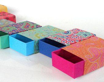 Boîte de cadeau, boîte d'emballage, boîte de faveur, -10 assortis de mariage imprimé match boîte style, boîtes d'emballage de bijoux
