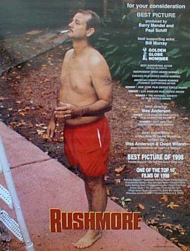 Bill Murray, Rushmore, 1998