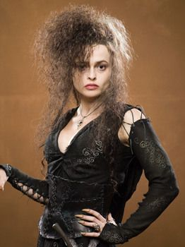 Helena Bonham Carter as Bellatrix Lestrange in Harry Potter