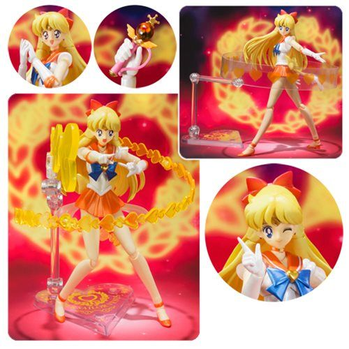 Sailor Moon SuperS Super Sailor Venus SH Figuarts Figure