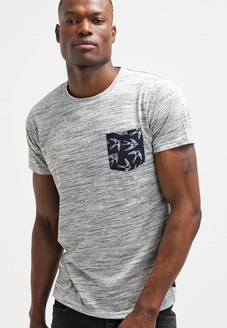 INDICODE JEANS BLAIME - Camiseta print - grey mix - Zalando.es
