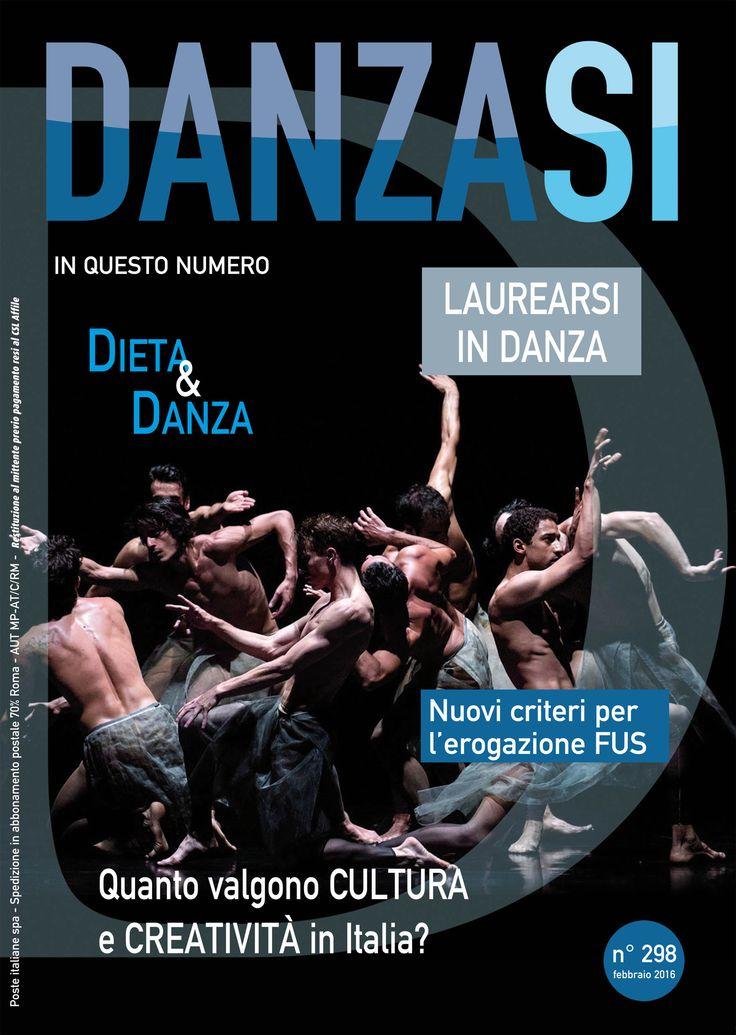Scopri il numero di febbraio 2016 di DanzaSì http://www.danzasi.it/scopri-il-numero-di-febbraio-2016/