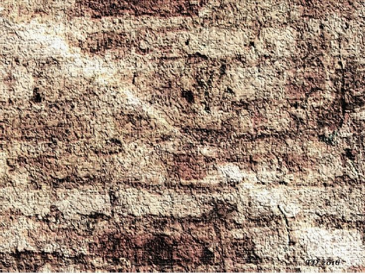 Tate ArtworkEdited art illustration - Brick wall is signed and dated by Tate Devros.JPEG file size: 1024 x 768 pixels.Warm colors: brown, white, beige, and rustic red shades.