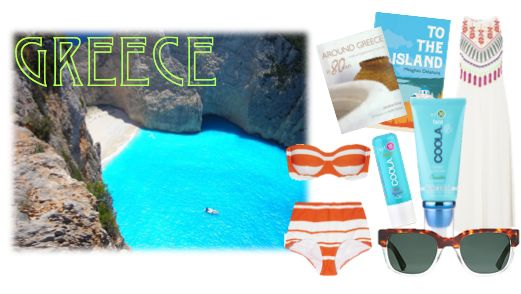 Dream Summer Getaway   Greece   See more on the COOLA blog #CoolaNufaceSummer