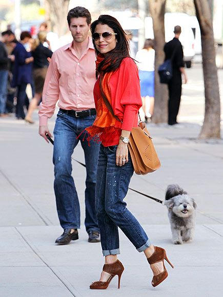 Bethenny Frankel, and Jason Hoppy! CUTE older couple. (BTW, Bethenny Frankel is the smartest reality star ever.. turned a temporary oppurtunity into a multi million dollar company.. with books, alcohol, a cleanse, vitamin supplements, skin care..)