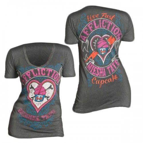Affliction Meisha Tate UFC 168 Walkout Shirt   UFC UK   UFC   Women's   Shirts & Tops   UFC UK Store