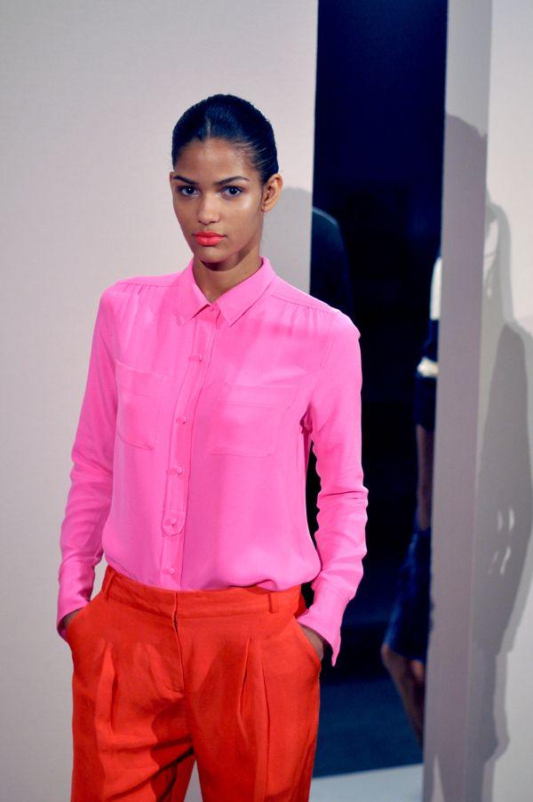 Top 25  best Hot pink shirts ideas on Pinterest | Hot pink shirt ...