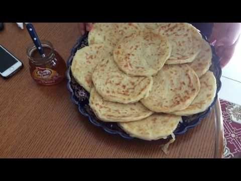 Recette msemen (autre façon de le faire) un vrai délice - YouTube
