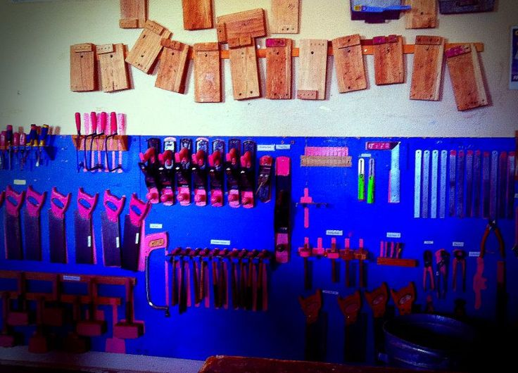 BHHS woodwork room #tools