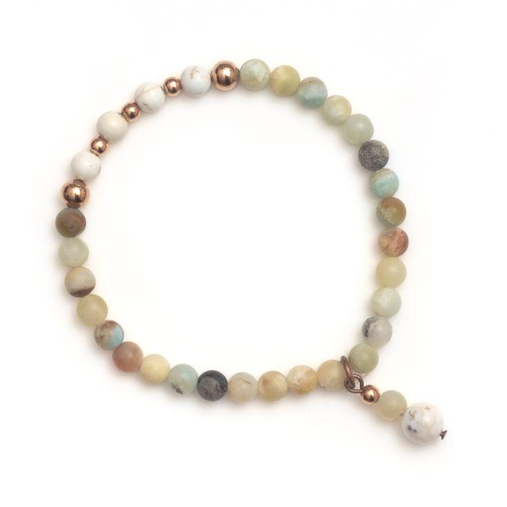 xada jewellery - Amalfi stone and copper beaded bracelet, $29.95 (http://www.xadajewellery.com/shop-by-collection/xada-stone-and-copper-beaded-bracelet/)